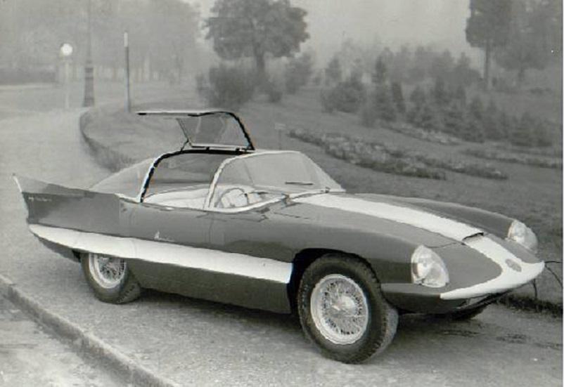 Alfa Romeo 6C 3000 CM Pininfarina Superflow IV, Pininfarina Alfa Romeo 6C 3000CM Superflow 2 1956.