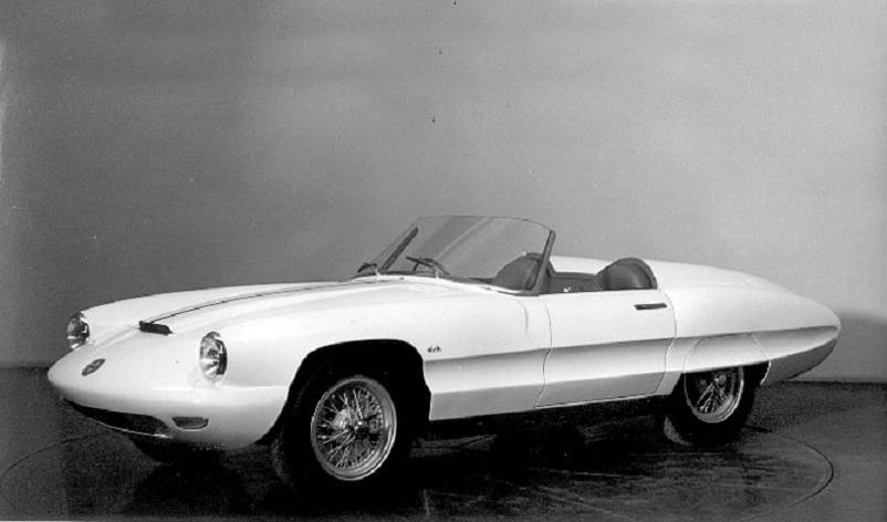 Pininfarina Alfa Romeo 6C 3000CM Superflow 2 1956, Pininfarina Alfa Romeo 6C 3000CM Superflow III.
