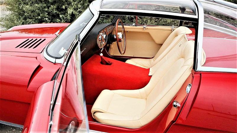 Alfa Romeo 6C 3000 CM Pininfarina Superflow IV, Eleganti davvero i suoi sedili come tutto il resto degli interni.