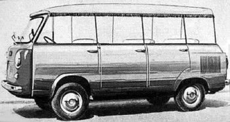 Fiat 600 T, Sempre la Carrozzeria Moretti con un esemplare di 600 T Touristcapri con la tendina parasole.