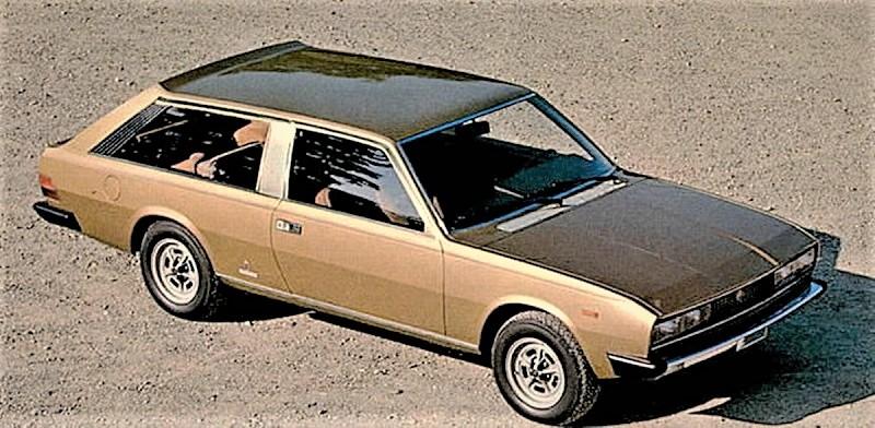 Fiat 130 Maremma 1974 La foto in copertina, un'auto che mi piace e che avrei voluto vedere circolare.