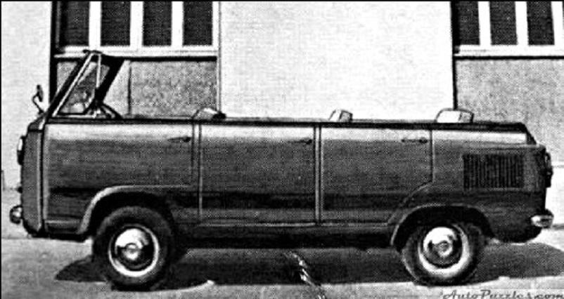 Fiat 600 T, Moretti 1963, Fiat 600 T Turistcapri Torpedo.