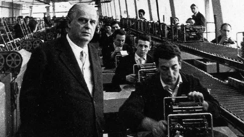 Anni 50 e il design italiano, Olivetti e la Sua storia.