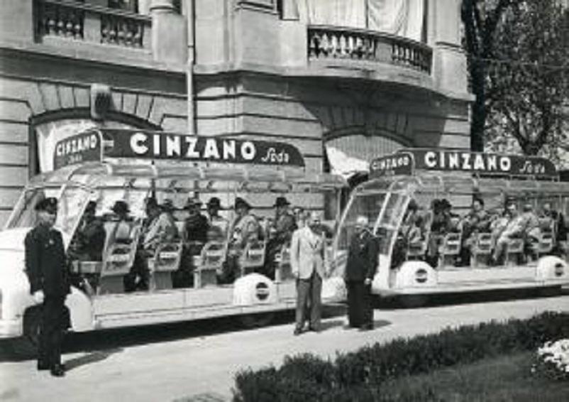 Mobilbar, Fiera Campionaria di Milano del 1950