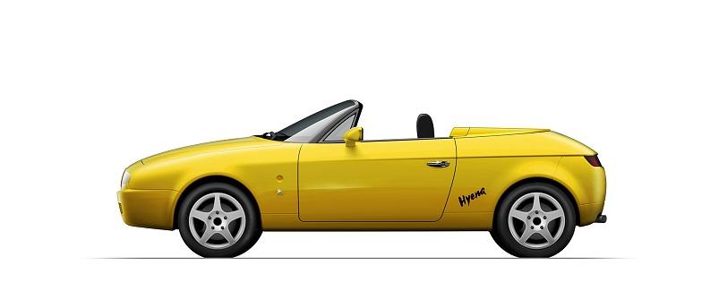 Lancia Fulvia Spider Zagato, Come la versione con il tetto rimasta una one-off.