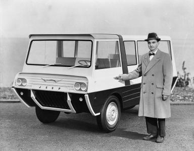 Kaiser Crown concept Jeep Wide Track