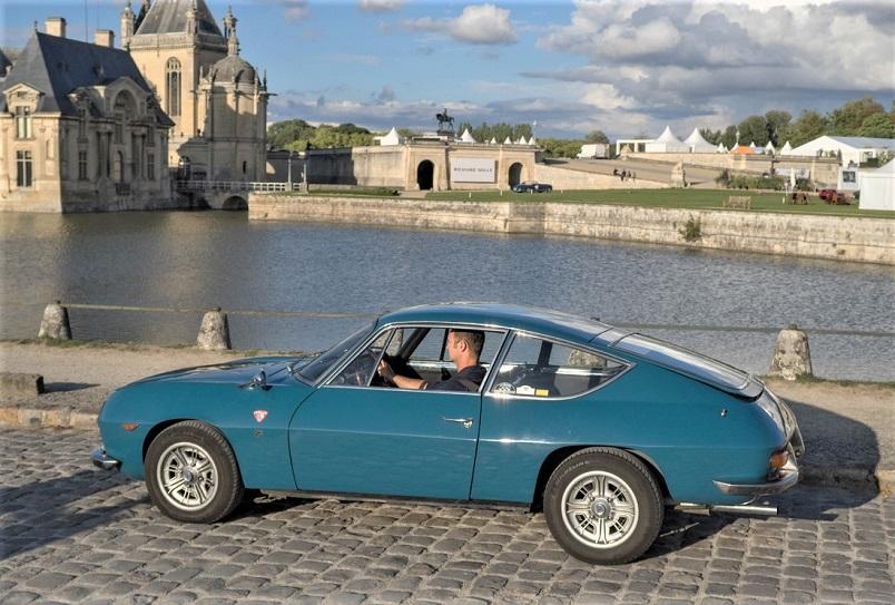 Lancia Fulvia Spider Zagato, La splendida base per realizzare quella versione cabriolet, auto davvero superba.