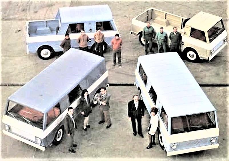 """Kaiser Crown concept Jeep Wide Track, L'SV in alcuni degli allestimenti allora disponibili, un """"furgoncino"""" che ebbe un discreto successo per un buon numero di anni."""