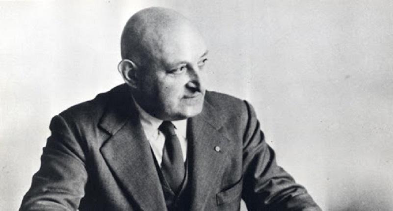 Il primo Ciao, Corradino d'Ascanio, (Popoli, 1º febbraio 1891 – Pisa, 5 agosto 1981).