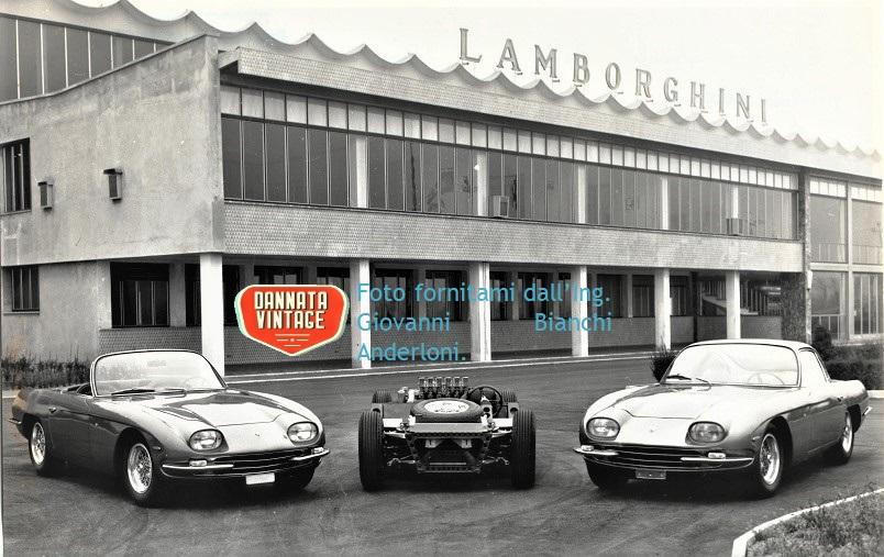Ing. Giovanni Bianchi Anderloni, Alcuni degli esemplari realizzati dalla Carrozzeria Touring fuori dallo stabilimento Lamborghini Auto.
