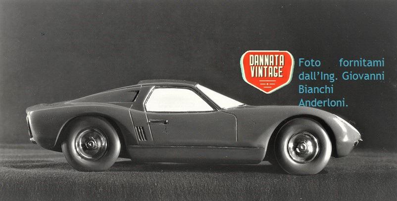 Ing. Giovanni Bianchi Anderloni, Il modellino in scala del Progetto Tigre per Lamborghini Auto realizzato dalla Carrozzeria Touring.