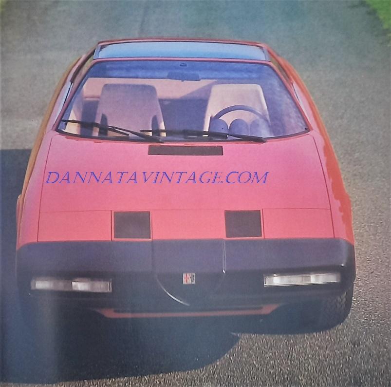 Alfa Romeo Alfetta Spider, Dalla copertina.