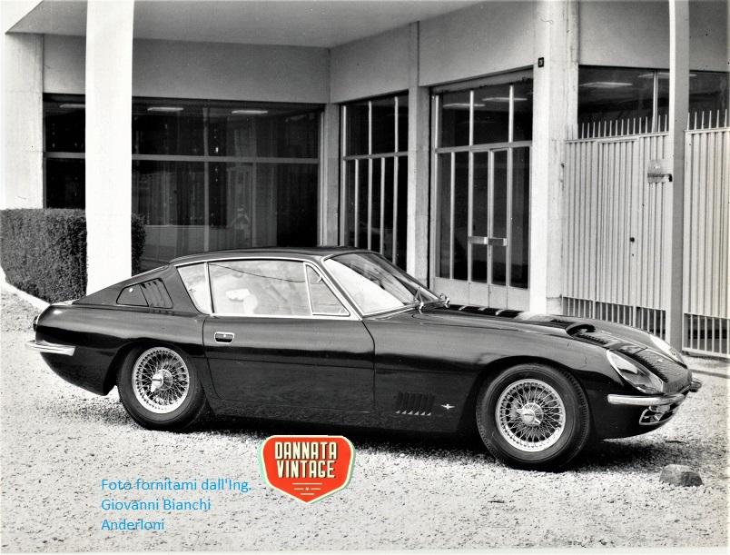 Ing. Giovanni Bianchi Anderloni Carrozzeria Touring, Aston Martin 4000 DBS.