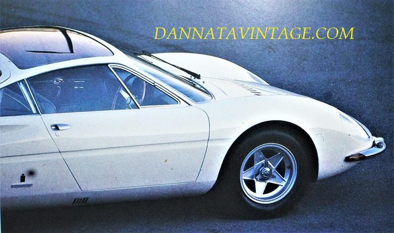 Ferrari 365 P, Linee superbe e con quel tetto in cristallo.