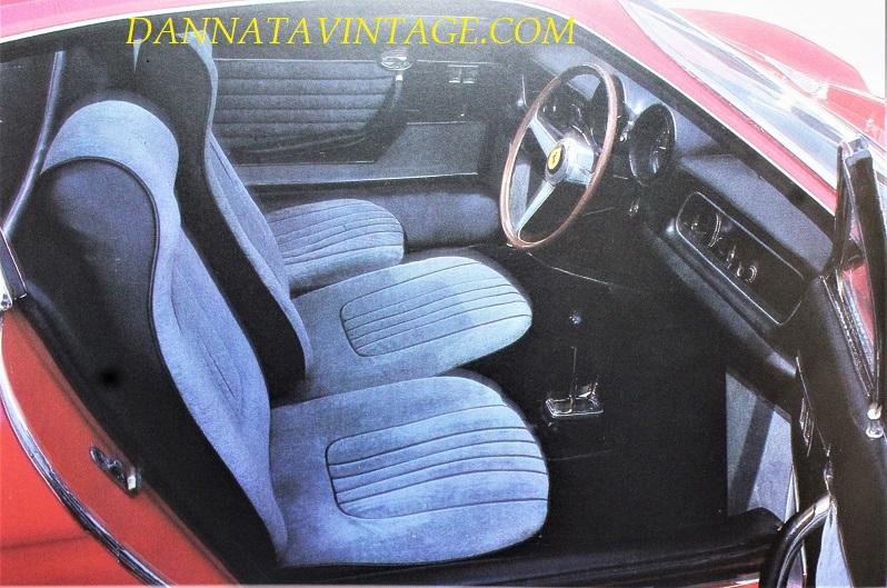 Ferrari 365 P, In tessuto quelli della seconda che ebbe come primo proprietario Gianni Agnelli.