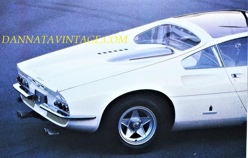 """Ferrari 365 P, Una coda che a me ricorda alcune Ferrari """"da gara"""" coeve."""