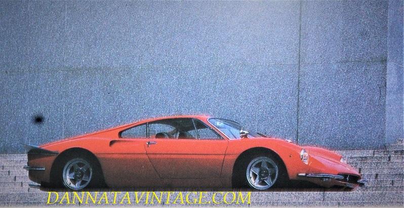 Ferrari 365 P, Quelle prese d'aria sui fianchi posteriore le avremmo riviste divers altre volte su modelli successivi.