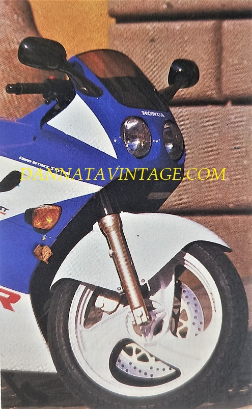 Honda NSR 125 R, Nella colorazione che ricordo essere la più diffusa.