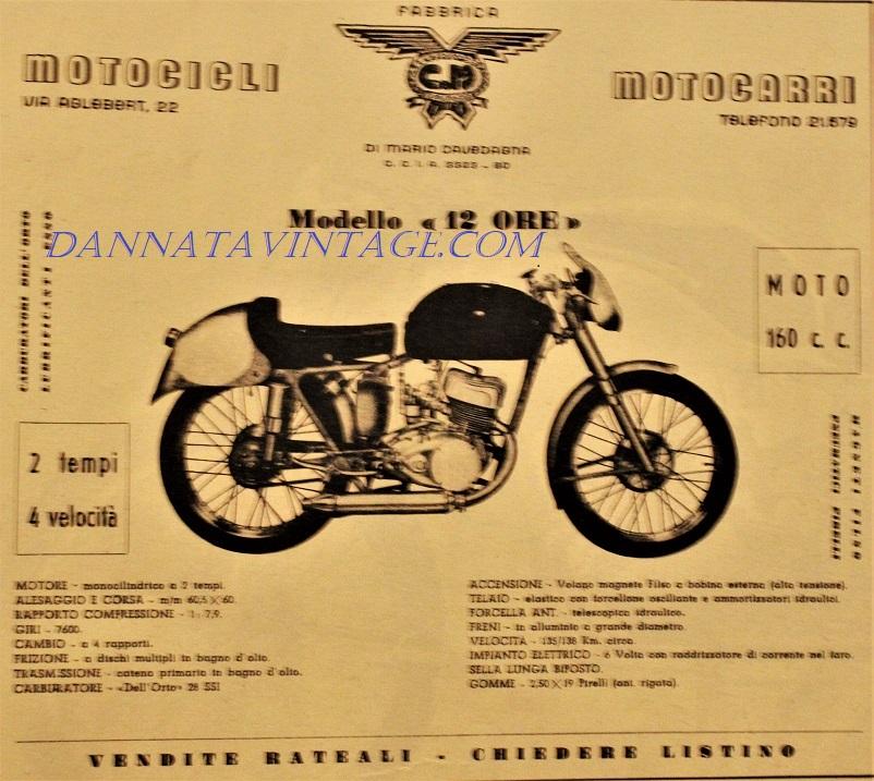 Moto CM 12 Ore