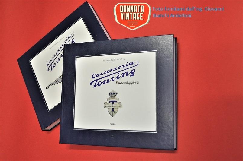 Libro Carrozzeria Touring scritto ed edito dall'Ing. Giovanni Bianchi Anderloni.