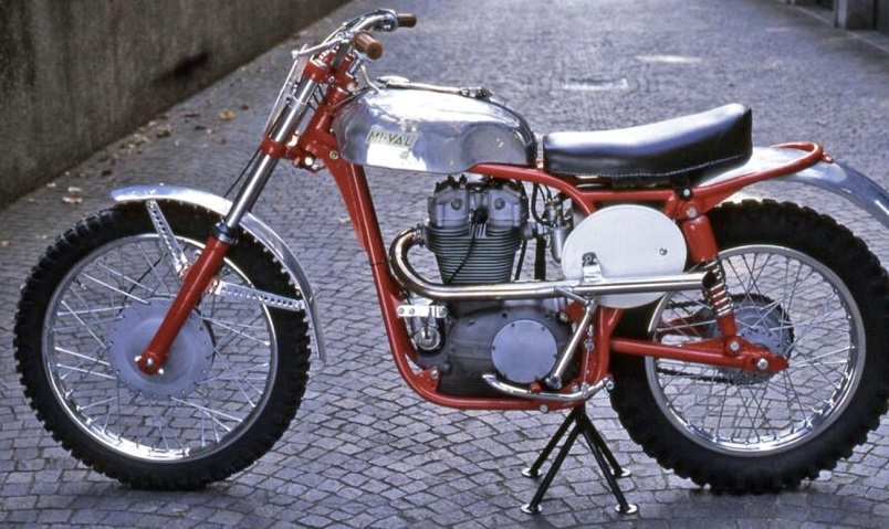 Mi-Val, una moto 500 del 1956.
