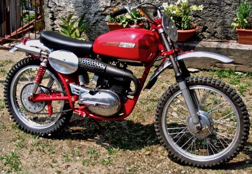 Mi-Val, Moto da cross 125 a due tempi del 1955.