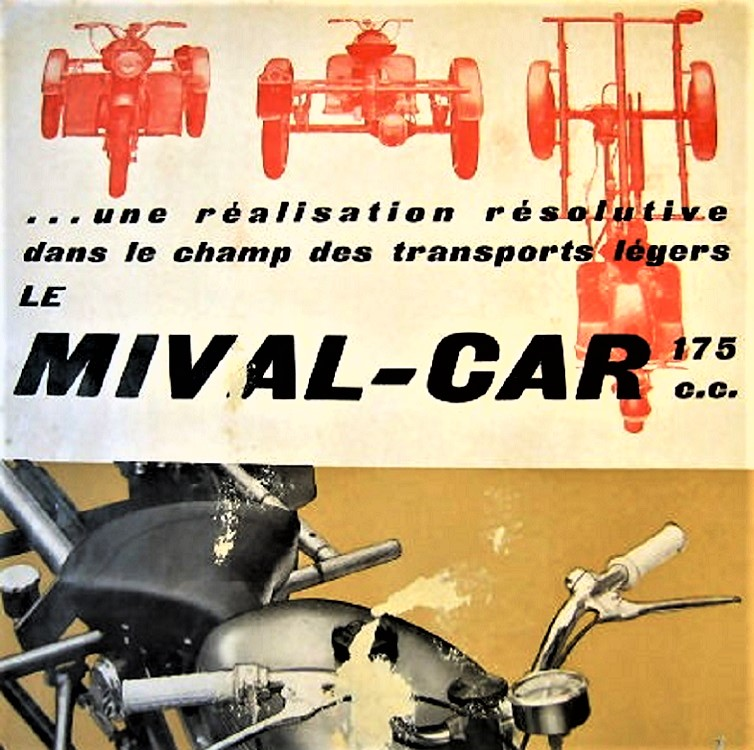 Mi-Val il loro motocarro, ad oggi penso proprio sia fra i più rari dei loro modelli prodotti.