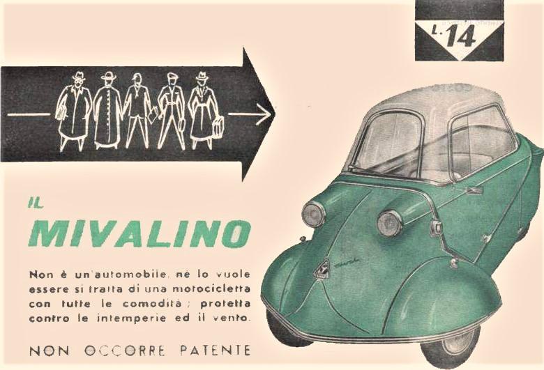 Mi-Val, Il loro Mivalino, realizzato su licenza Messerschmitt e dotandolo di due diverse cilindrate negli anni, motori realizzati sempre da loro.