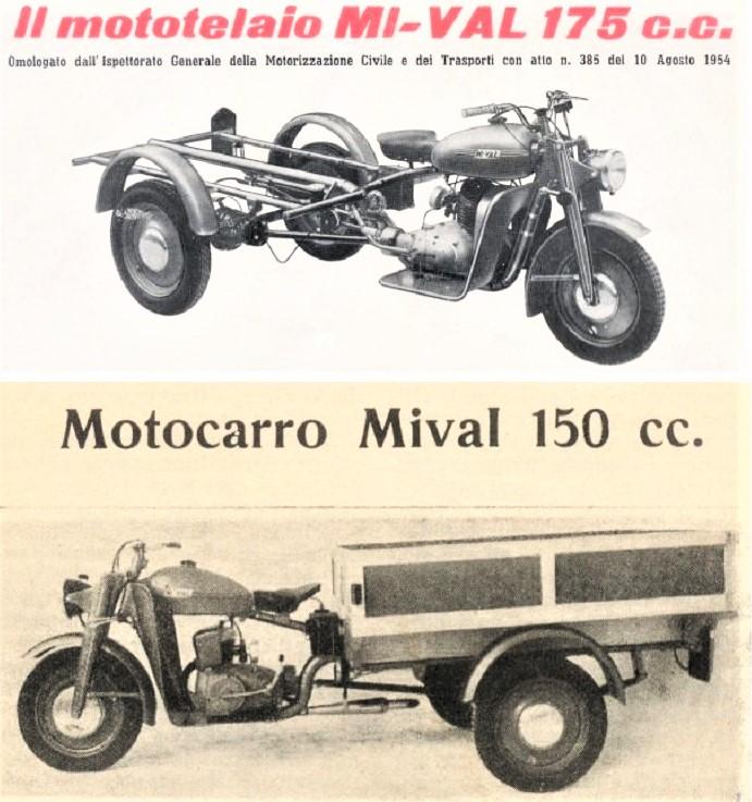 Mi-Val sempre la locandina d'antan del loro motocarro.