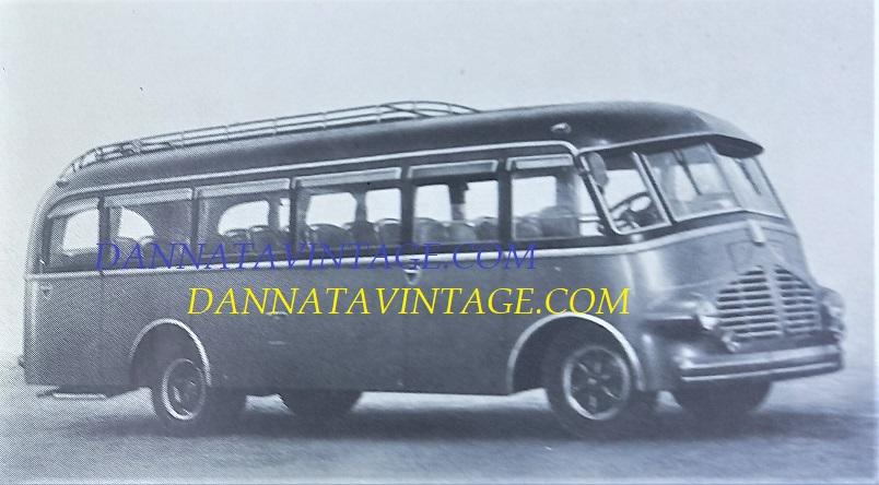 Carrozzeria SCALL, Bus di linea su base Isotta Fraschini D 65 SCALL 1948.