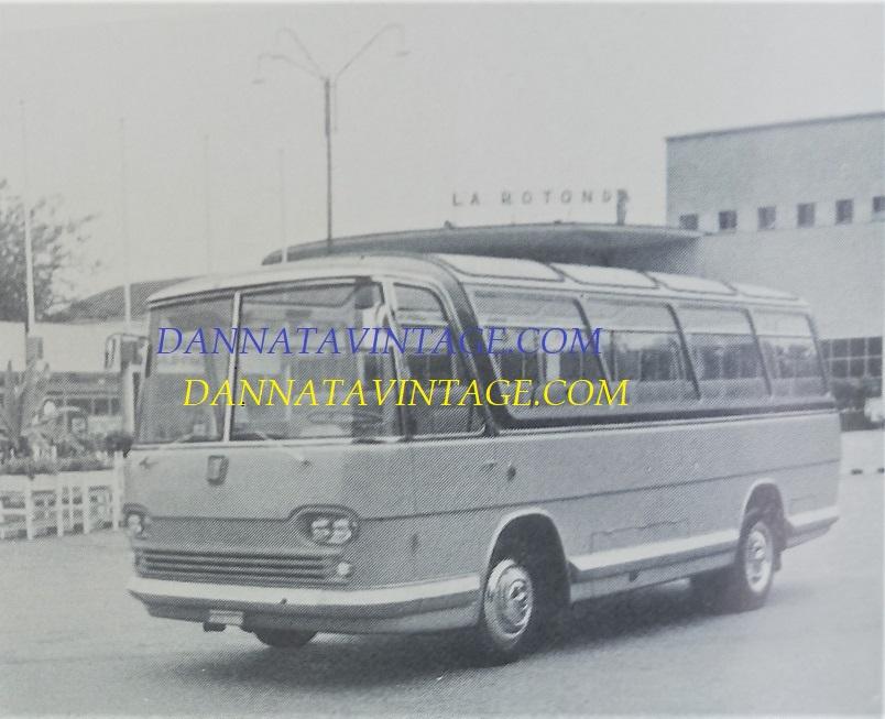 Carrozzeria SCALL, Adibito per il solo trasporto visitatori stabilimenti Fiat su base 314 - 1961.