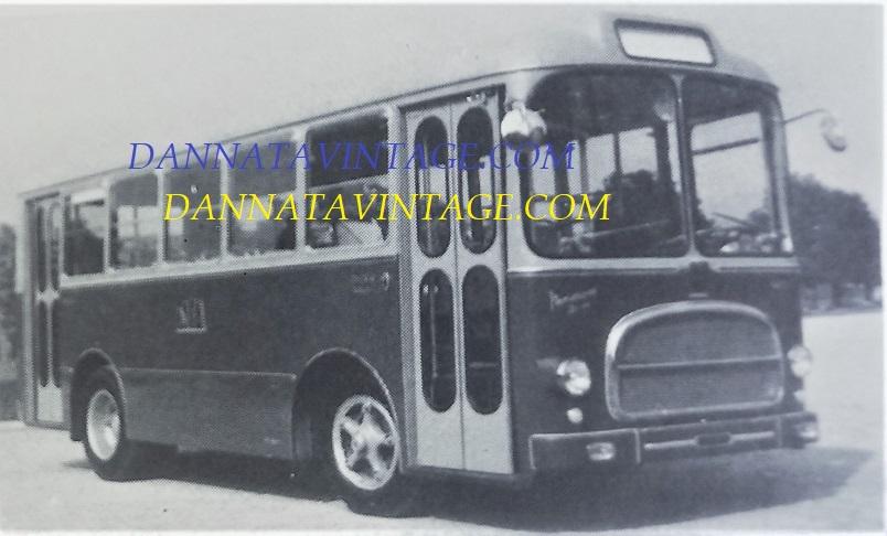 Carrozzeria SCALL, 1961 Bus urbano con monoscocca SCALL e gruppi meccanici Fiat 414.