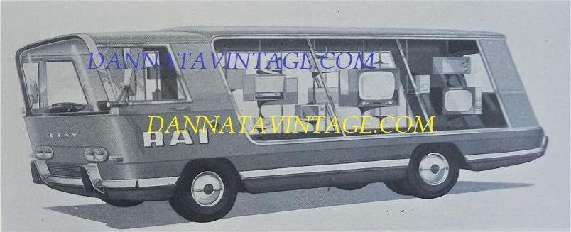 Carrozzeria SCALL, Dalla copertina, pubblicitario RAI su base Fiat 314 - anno 1961.