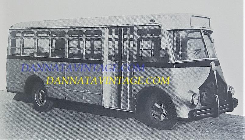 Carrozzeria SCALL, Urbano per l'Argentina su base Isotta Fraschini D 65 SCALL 1948.
