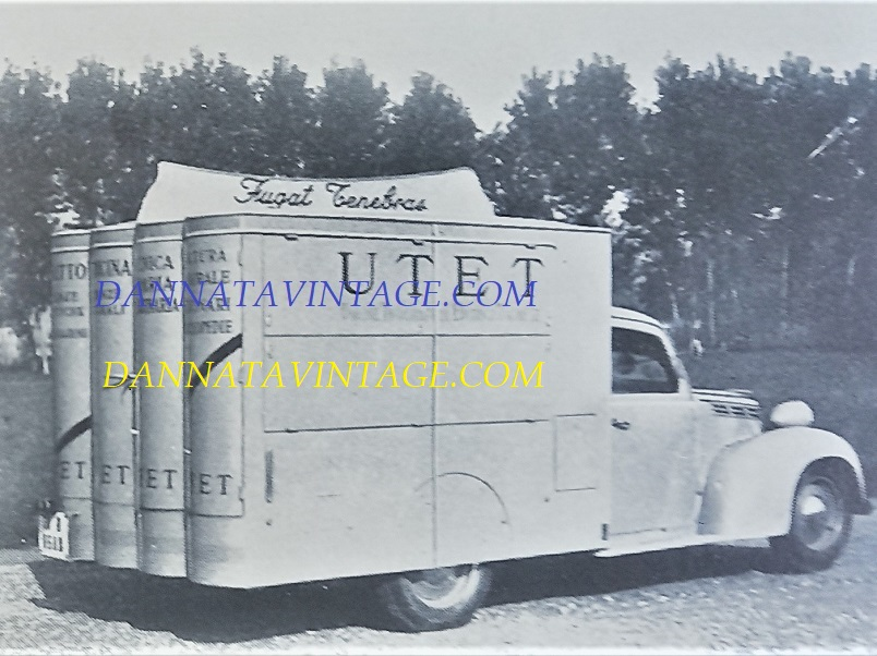 Carrozzeria SCALL, Lo avevamo già visto in questo mio BLOG, pubblicitario su base Fiat 1100 EL - 1948-49.