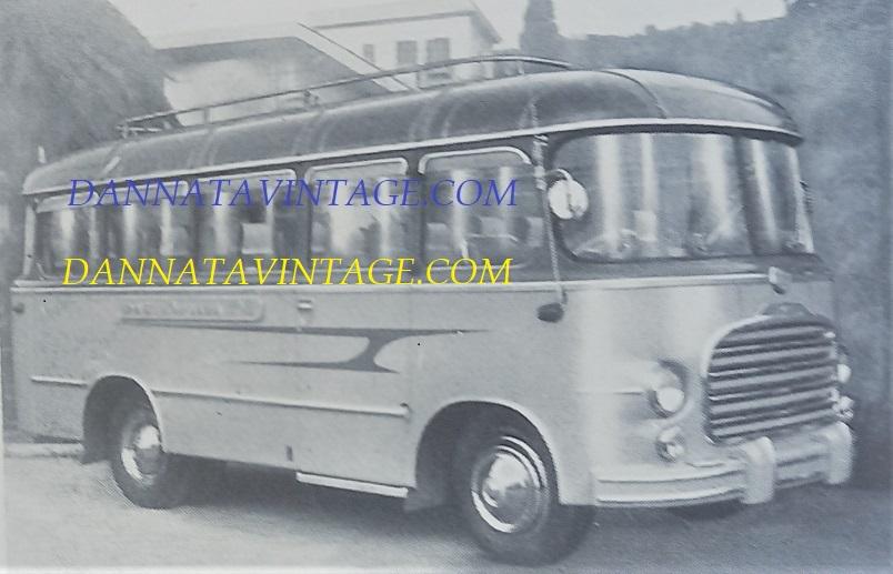 Carrozzeria SCALL, 1952 bus di linea su base OM Leoncino.
