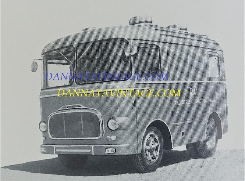Carrozzeria SCALL, Allestito per la RAI nel 1960 su base OM Tigrotto 4X4, 1960.