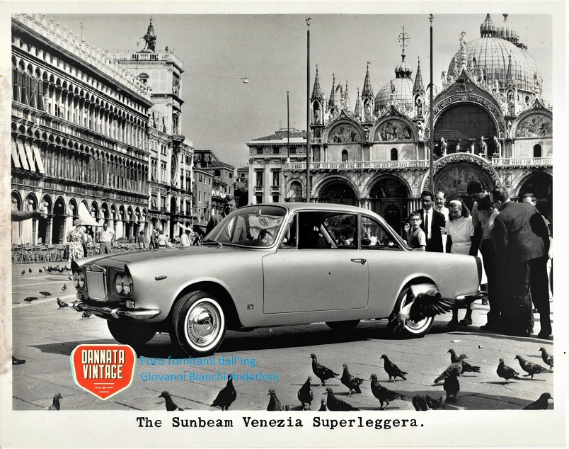 Ing. Giovanni Bianchi Anderloni Carrozzeria Touring, Sunbeam Venezia.