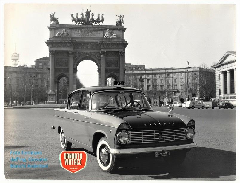 Ing. Giovanni Bianchi Anderloni Carrozzeria Touring, Super Minx Taxi.