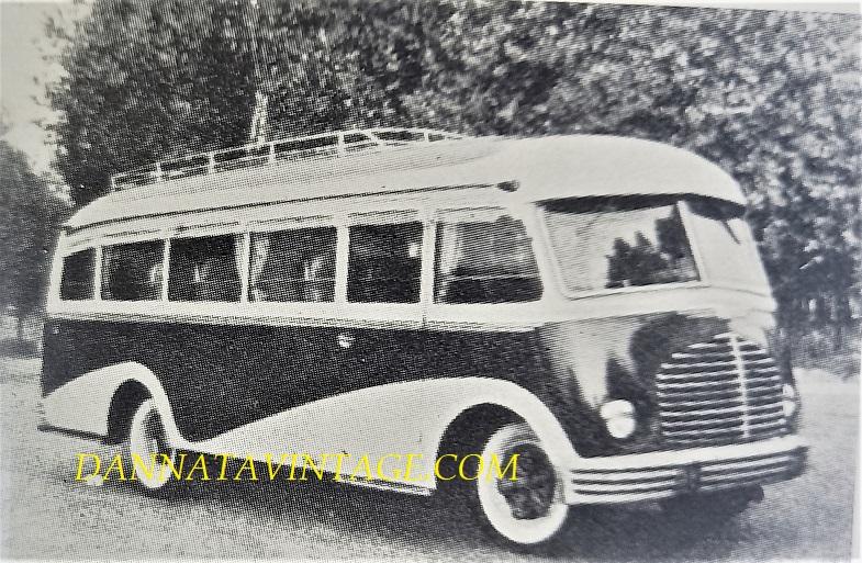Carrozzeria BORSANI, Isotta Fraschini autobus di linea 32 P - 1947.