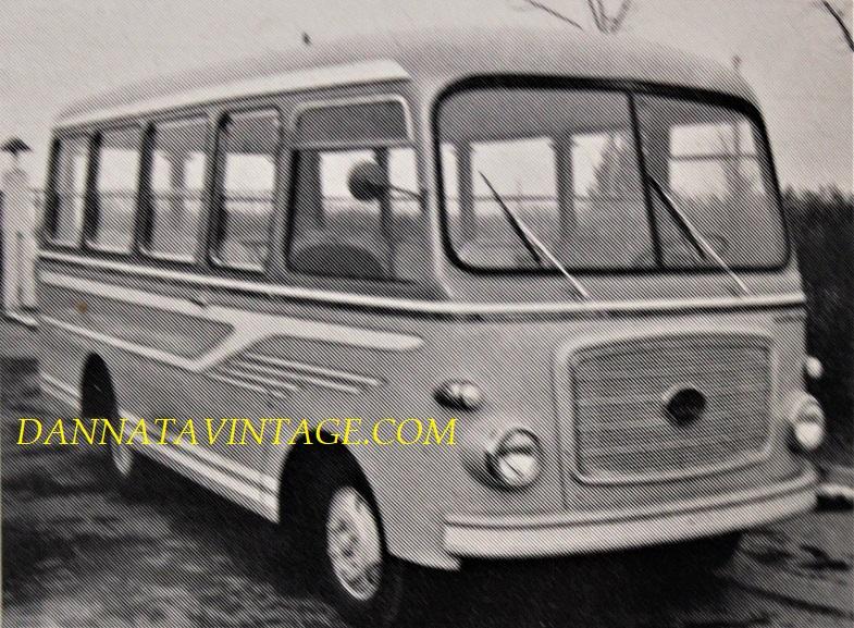 Carrozzeria BORSANI, Autobus scolastico su OM Lupetto - 1963.