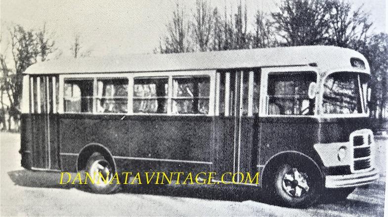 Carrozzeria BORSANI, Bus urbano su base Isotta Fraschini - 1948.