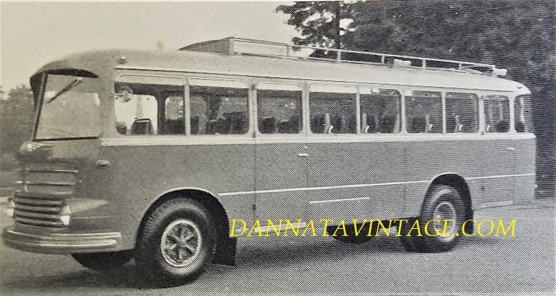 Carrozzeria BORSANI, Autobus Coloniale OM Orione - 1950-1951.