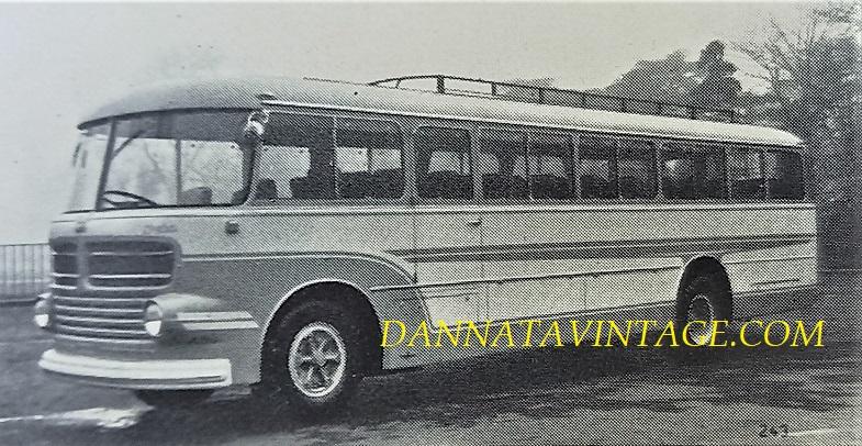 Carrozzeria BORSANI, Interurbano OM Orione - 1951.