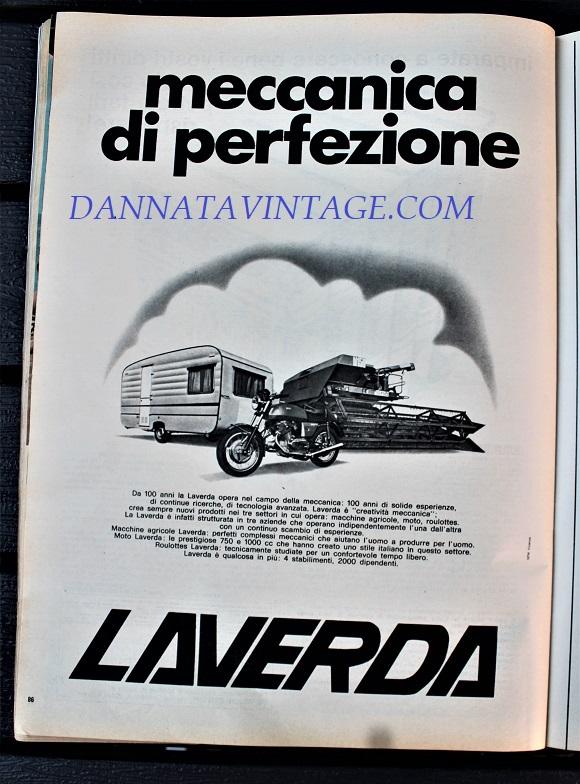 Pubblicità cartacea, Giusto per ricordare cosa producesse la Laverda, fu una grande azienda e la cui attività abbracciava mercati molto diversi fra di loro.