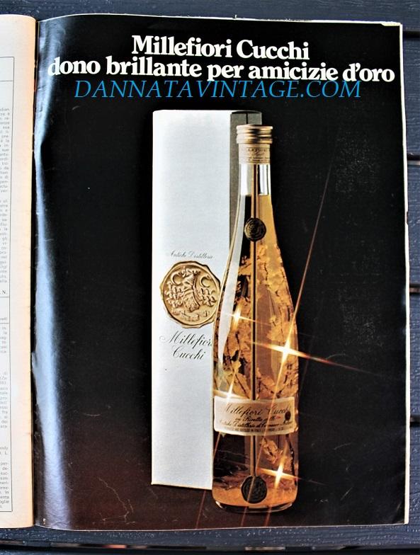 Pubblicità cartacea, Per chi ne avesse una bottiglia se la tenga cara non aprendola, si guardi le quotazioni che ha questo liquore, le scoprii anni fa cercando altro.