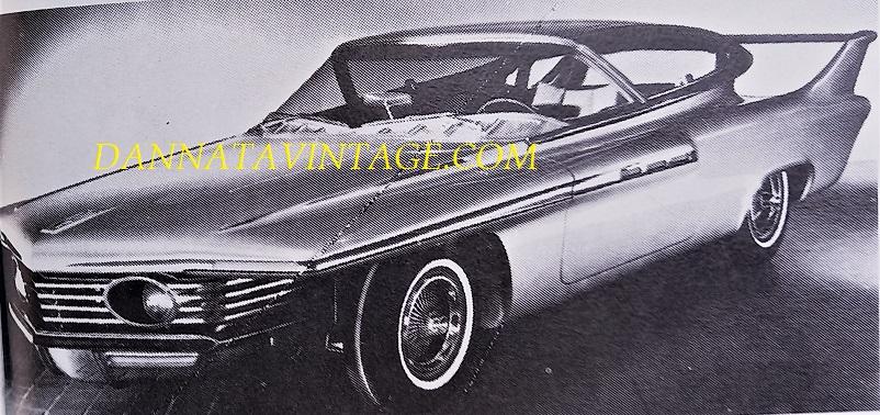 Carrozzeria Ghia, Una vettura a turbina, la Turboflite 1961 realizzata in collaborazione con i tecnici della Chrysler.