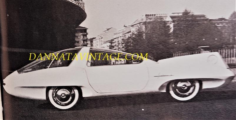Carrozzeria Ghia, MKII della Selene, l'anno il 1960 ed ancora una volta in strettissima collaborazione con i tecnici Chrysler.