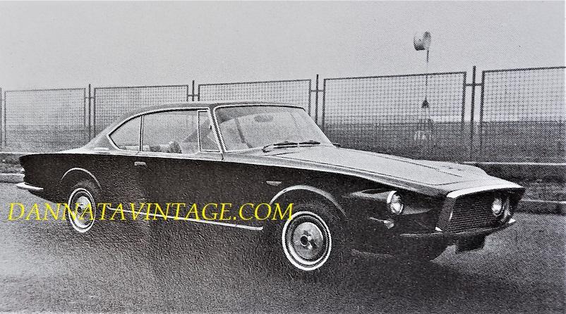 Carrozzeria Ghia, Saint Regis realizzata sul telaio della Plymouth Valiant - 1962.