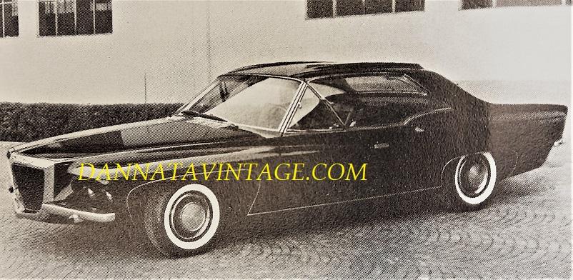 Carrozzeria Ghia, Un prototipo Chrysler - 1966.